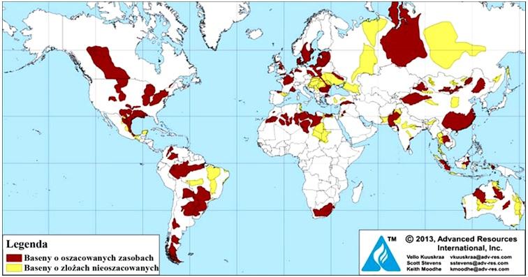 występowanie ropy na świecie